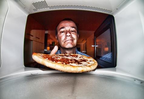 Otra vez pizza...